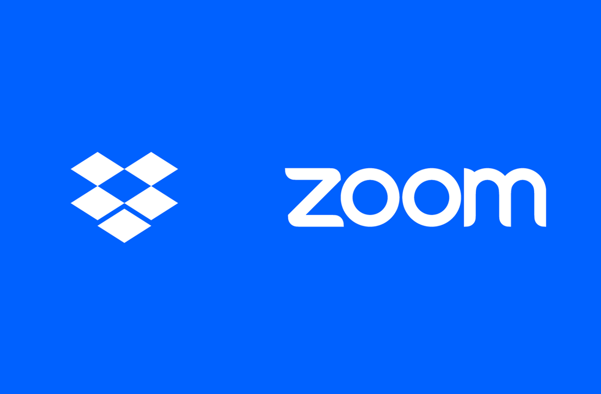 Dropbox and Zoom announce strategic partnership to expand