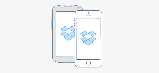 Dropbox mobile apps