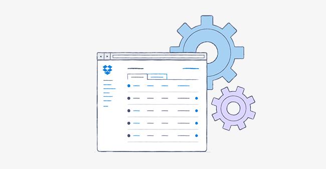 Dropbox for Business admin controls