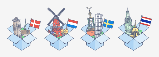 Dropbox and Carousel get 4 new languages