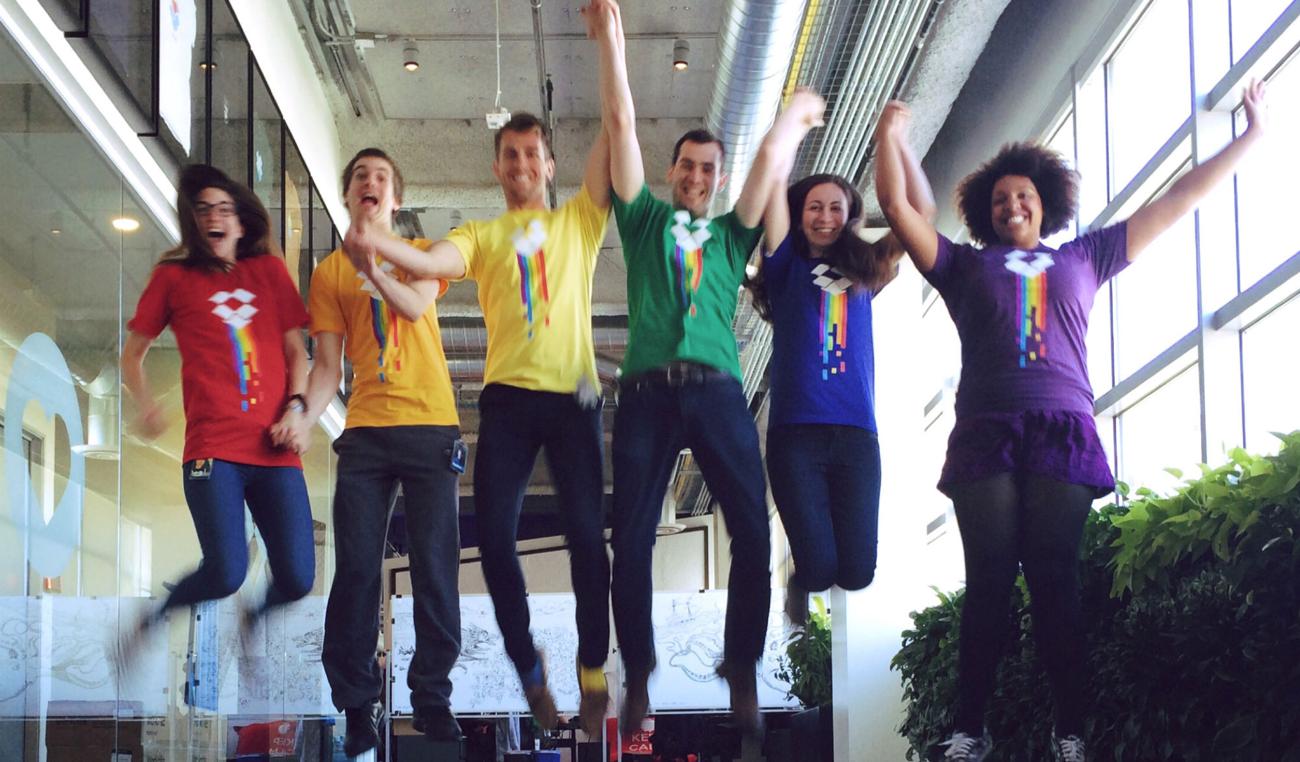 Dropbox celebrates Pride