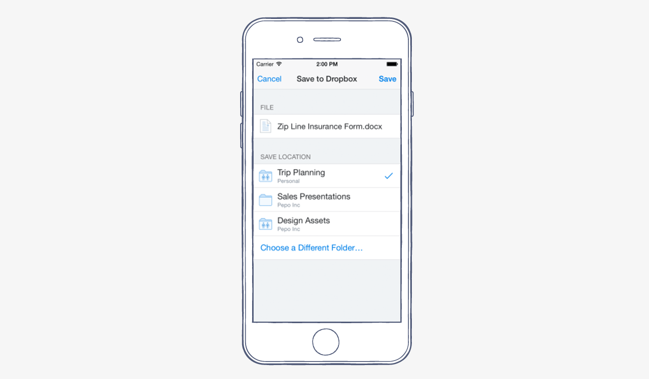 Dropbox for iOS now smoother