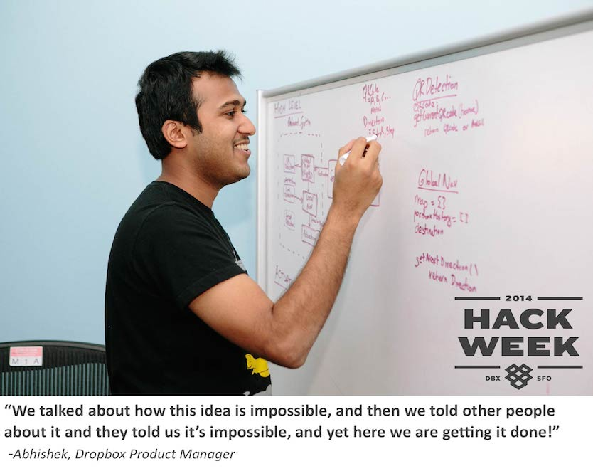 Dropbox Hack Week: Do the Impossible with Abhishek