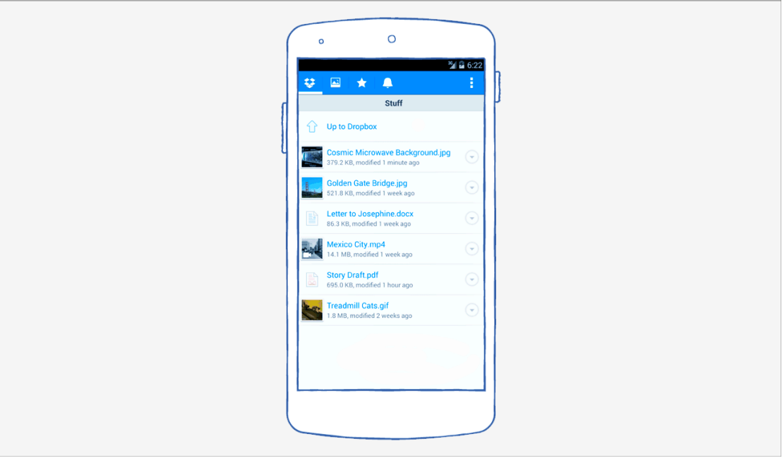 Dropbox Android tips