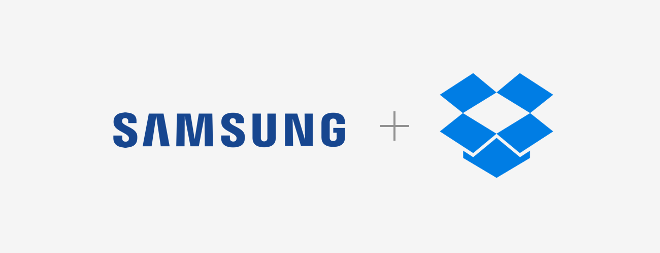 Dropbox and Samsung