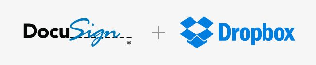 Dropbox and DocuSign