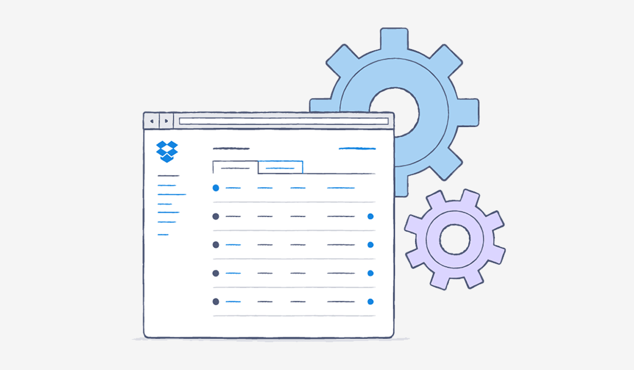 Dropbox for Business Admin Console