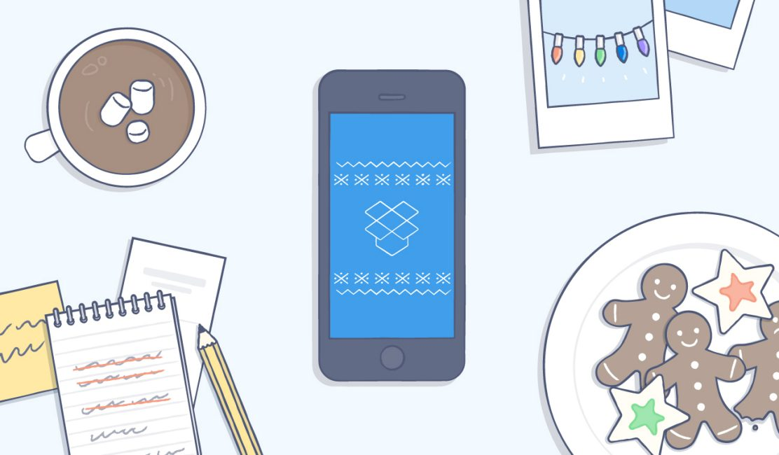 Plan a holiday party with Dropbox