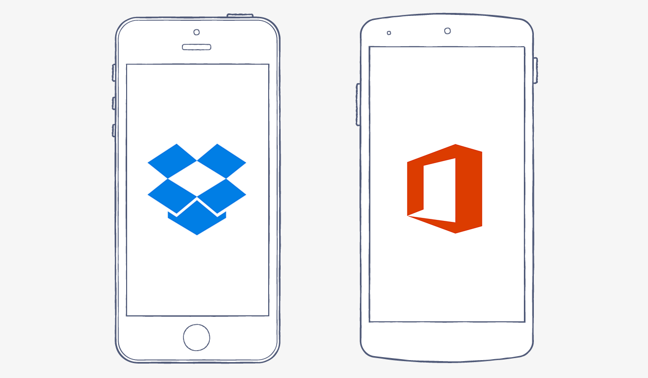 Edit Office files from the Dropbox app
