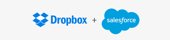 Dropbox and Salesforce