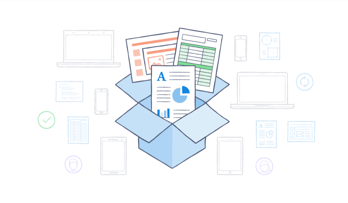 Save time with Dropbox
