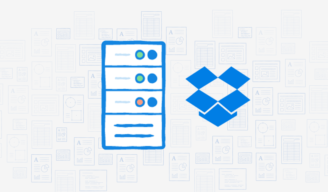 Dropbox as a complement to your server