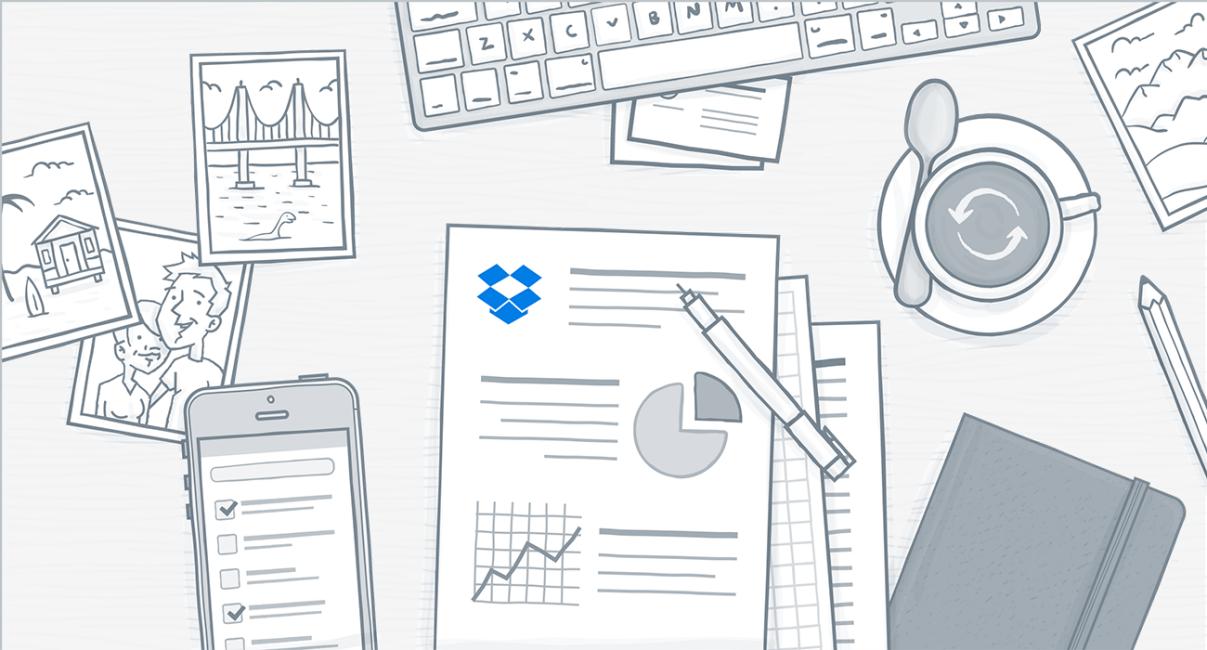 Dropbox productivity tips