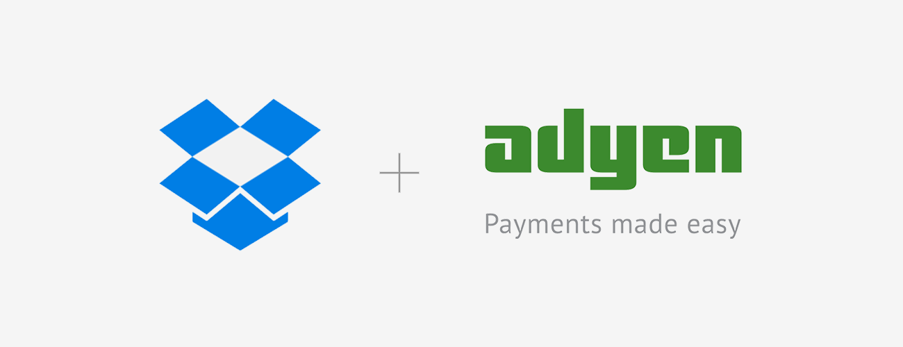 Dropbox and Adyen