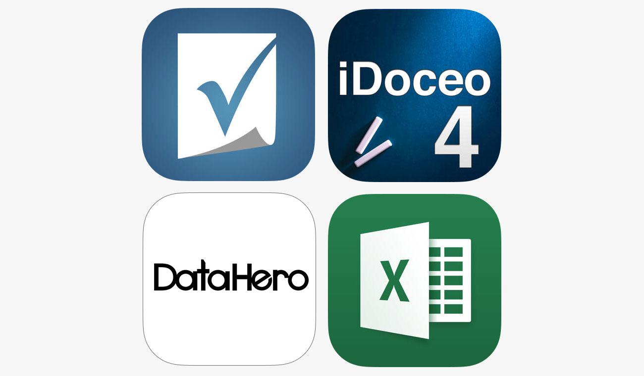 Smartsheet | iDoceo | DataHero | Microsoft Excel