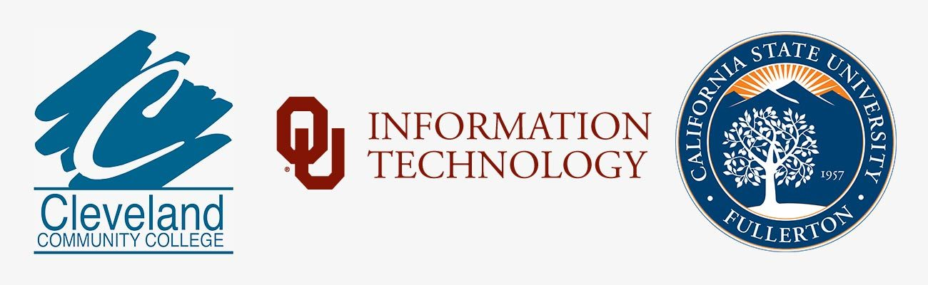 Cleveland Community College, University of Oklahoma, CSU Fullerton