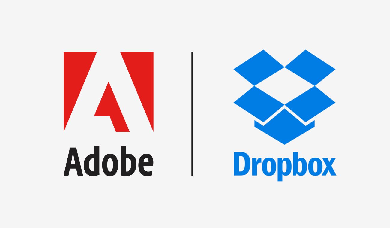Dropbox Adobe partnership
