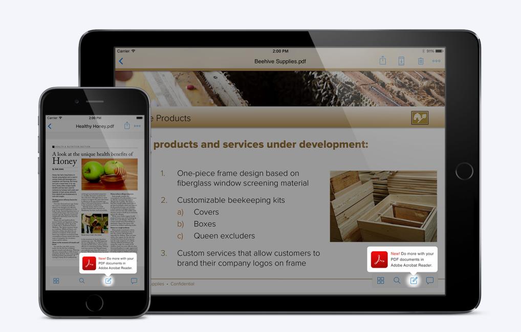 Dropbox and Adobe ioS partnership