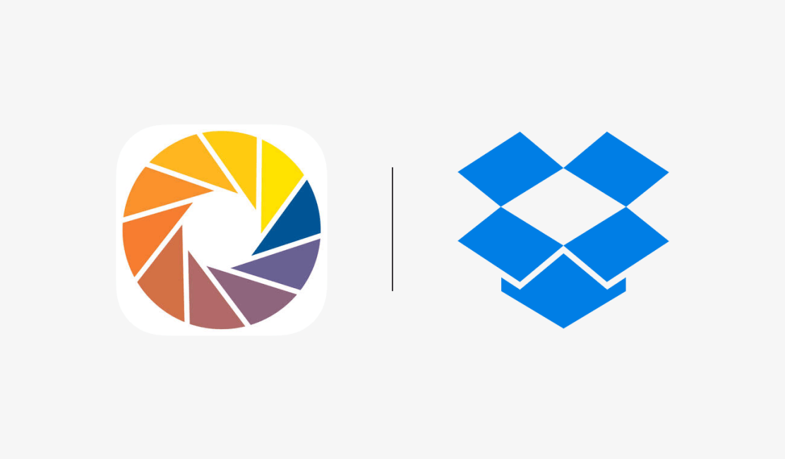 KNFB Reader and Dropbox logos