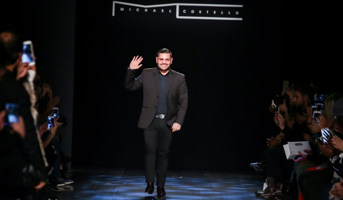 Photo of Michael Costello at New York Fashion Week, February 2017