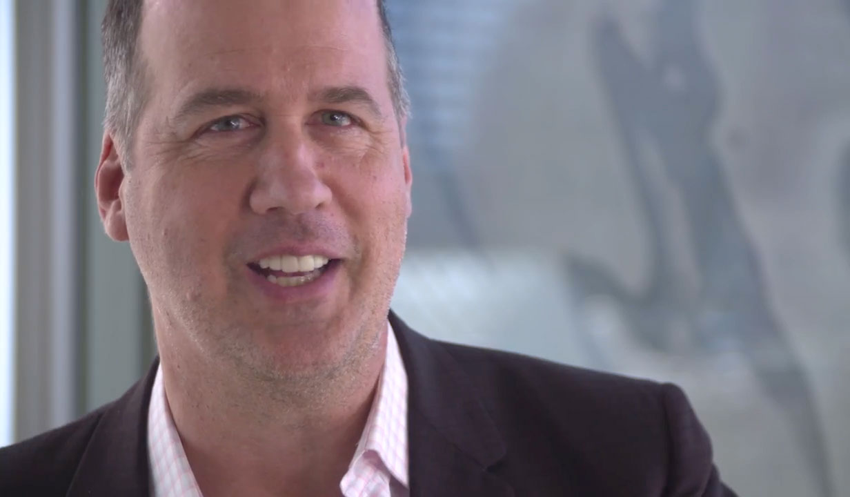 Photo of Krist Novoselic at the Dropbox Studio