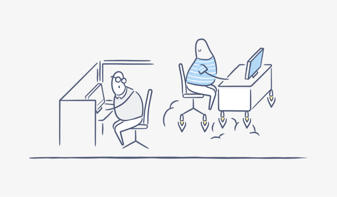 Illustration for blog post on Dropbox integrations