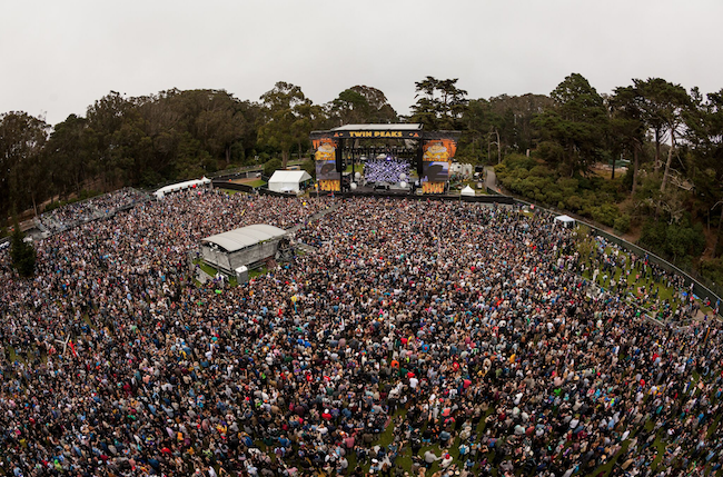 Outside Lands crowd photo by Josh Withers