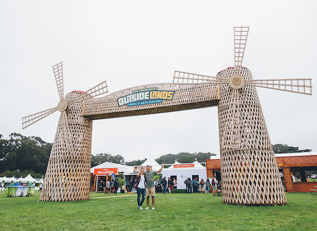 Outside Lands windmills photo by Jack Gorlin