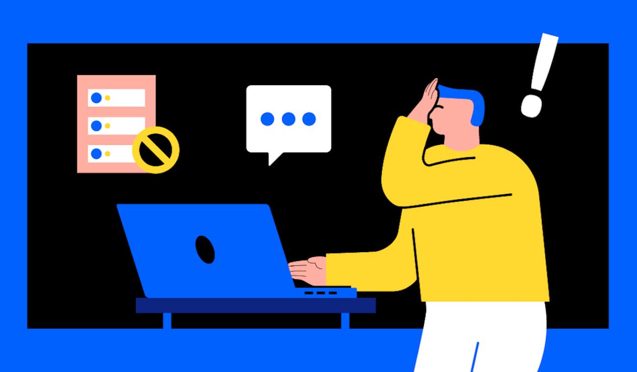 Illustration for blog post on legacy tech