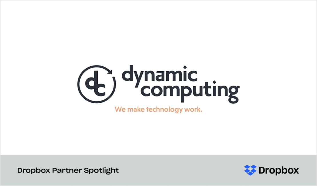 Graphic for Dynamic Computing partner spotlight