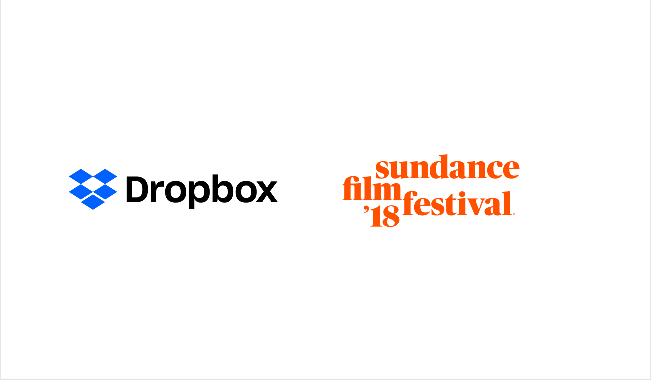 Dropbox and Sundance logos
