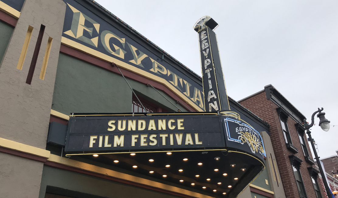 The Egyptian Theater at the Sundance Film Festival
