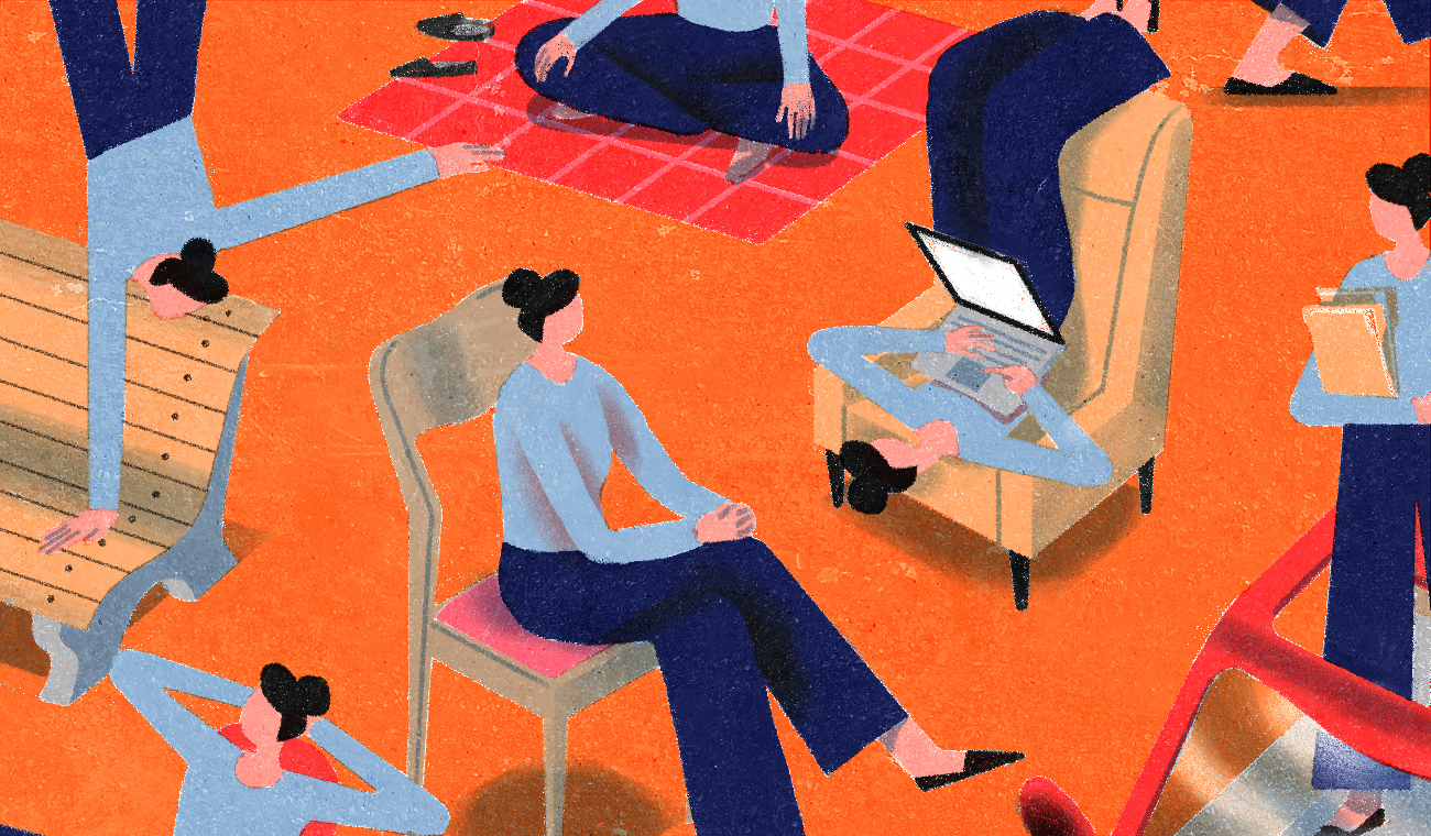 Illustration for post on exploring different workspaces
