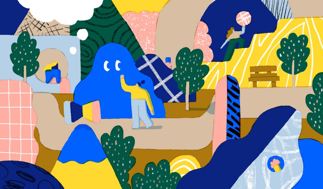 Illustration for post on creative ways to reinvigorate mind, body and soul