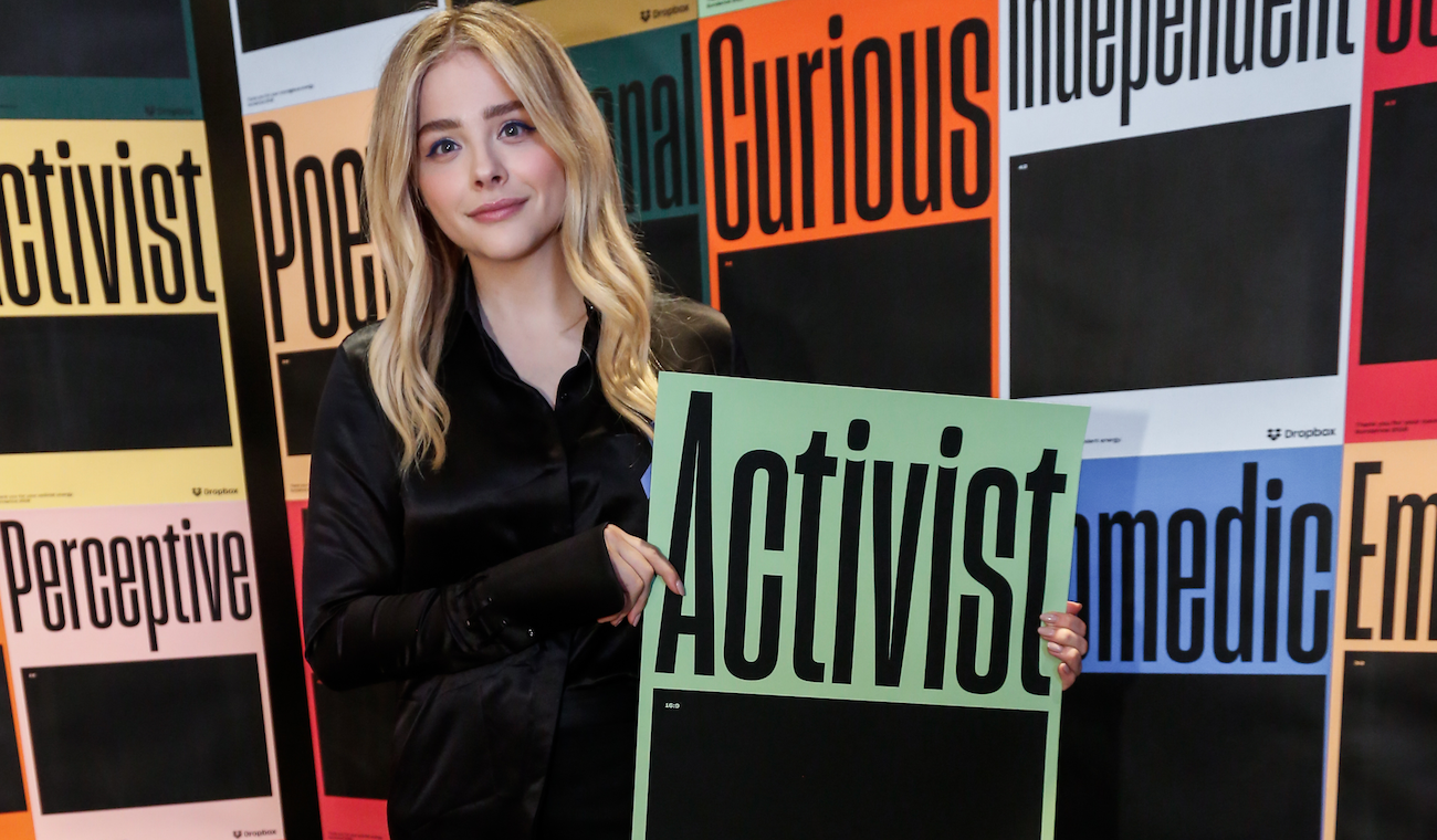 Chloe Grace Moretz at the IndieWire Studio presented by Dropbox