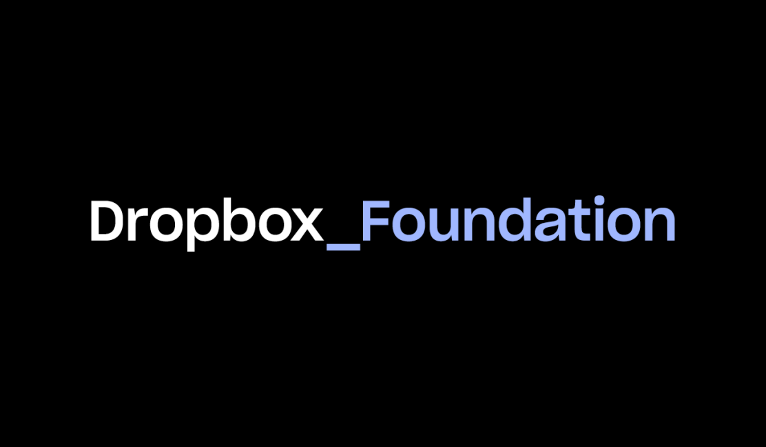 Dropbox Foundation logo