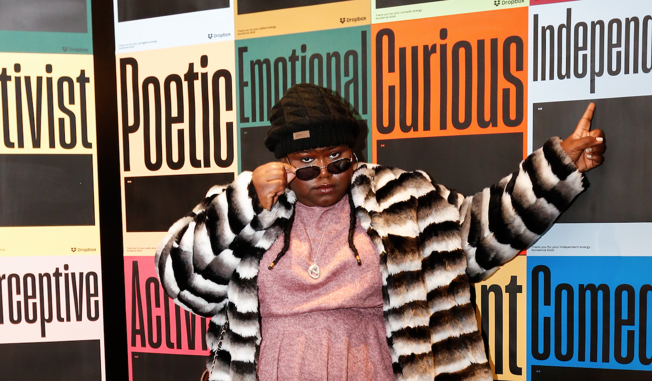 Gabourey Sidibe at the IndieWire Studio presented by Dropbox