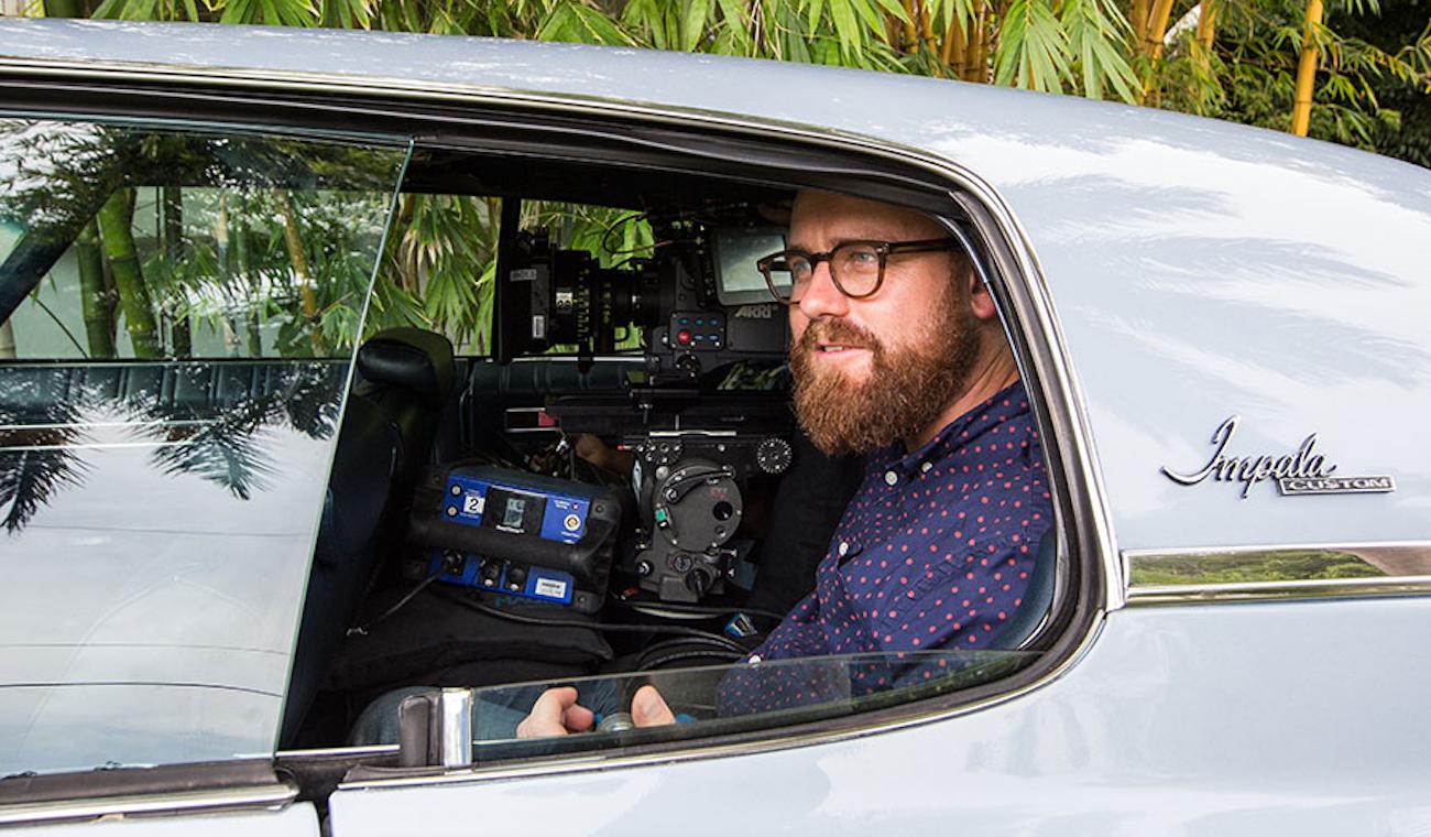 Moonlight cinematographer James Laxton