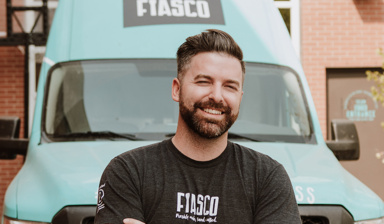Photo of James Boettcher, Chief Idea Officer and CEO at Fiasco Gelato