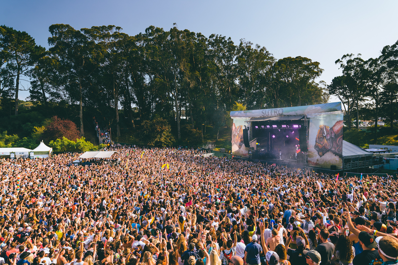 Photo of crowd at Outside Lands by Jeremy Cohen