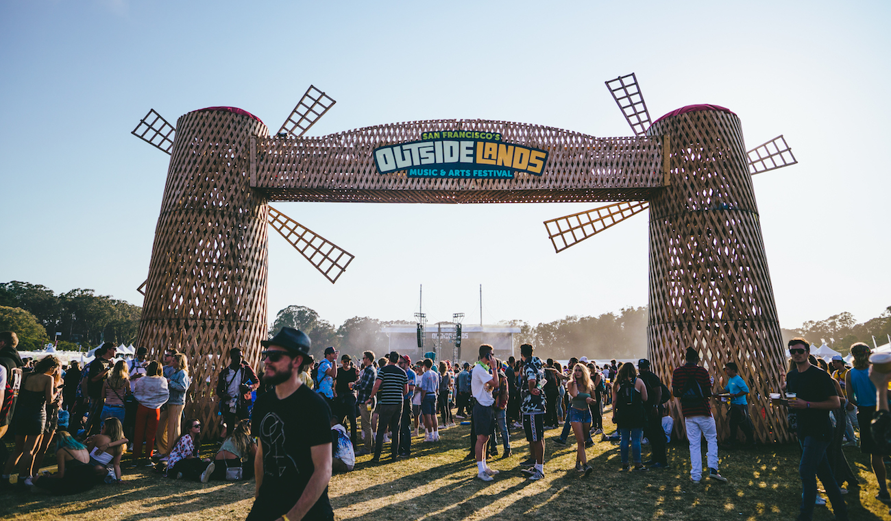 Photo of Outside Lands entrance