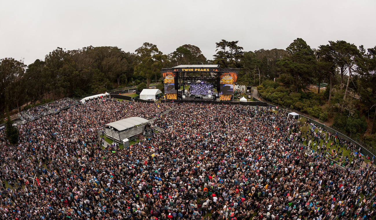 Photo of crowd at Outside Lands