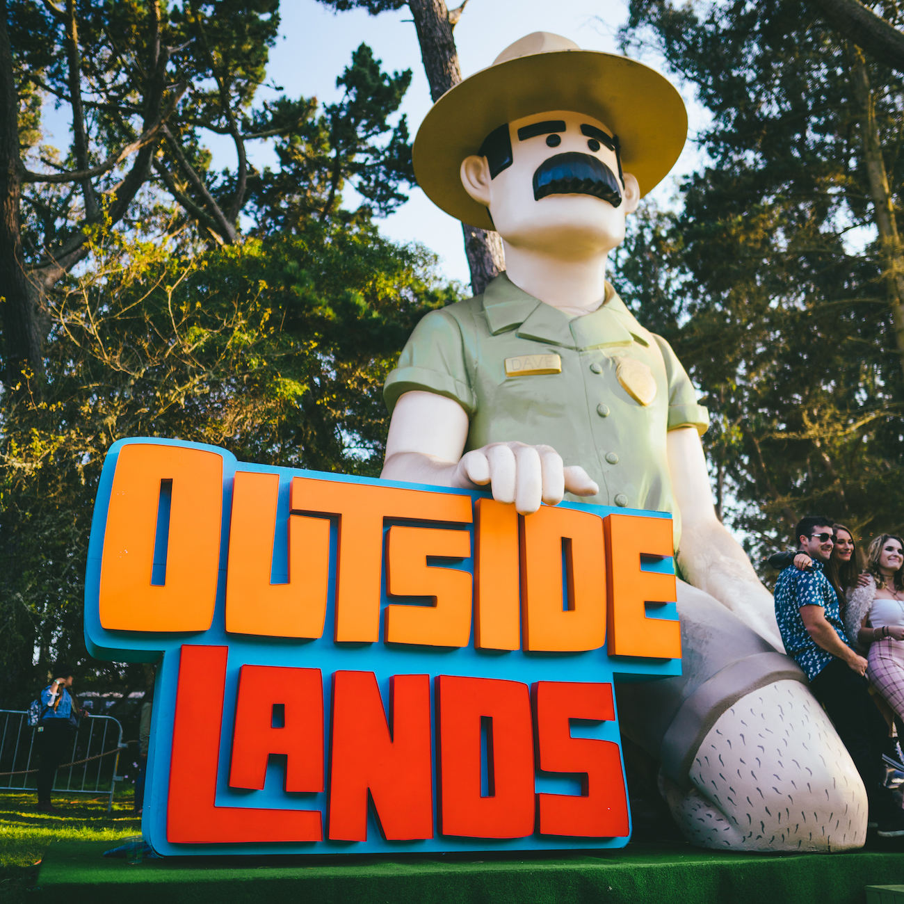 Photo of Ranger Dave at Outside Lands by Jeremy Cohen