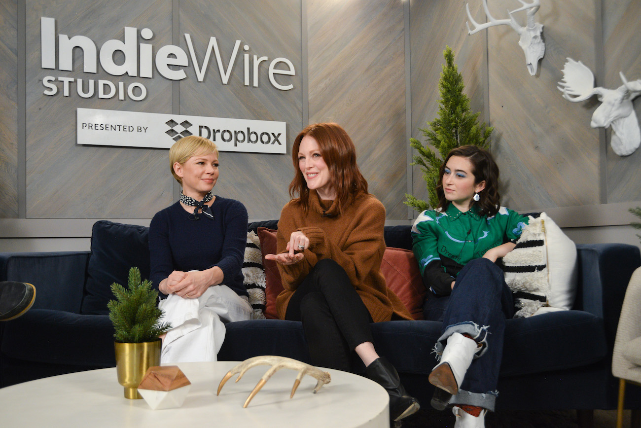 At the IndieWire Studio presented by Dropbox. Photo by Clayton Chase.