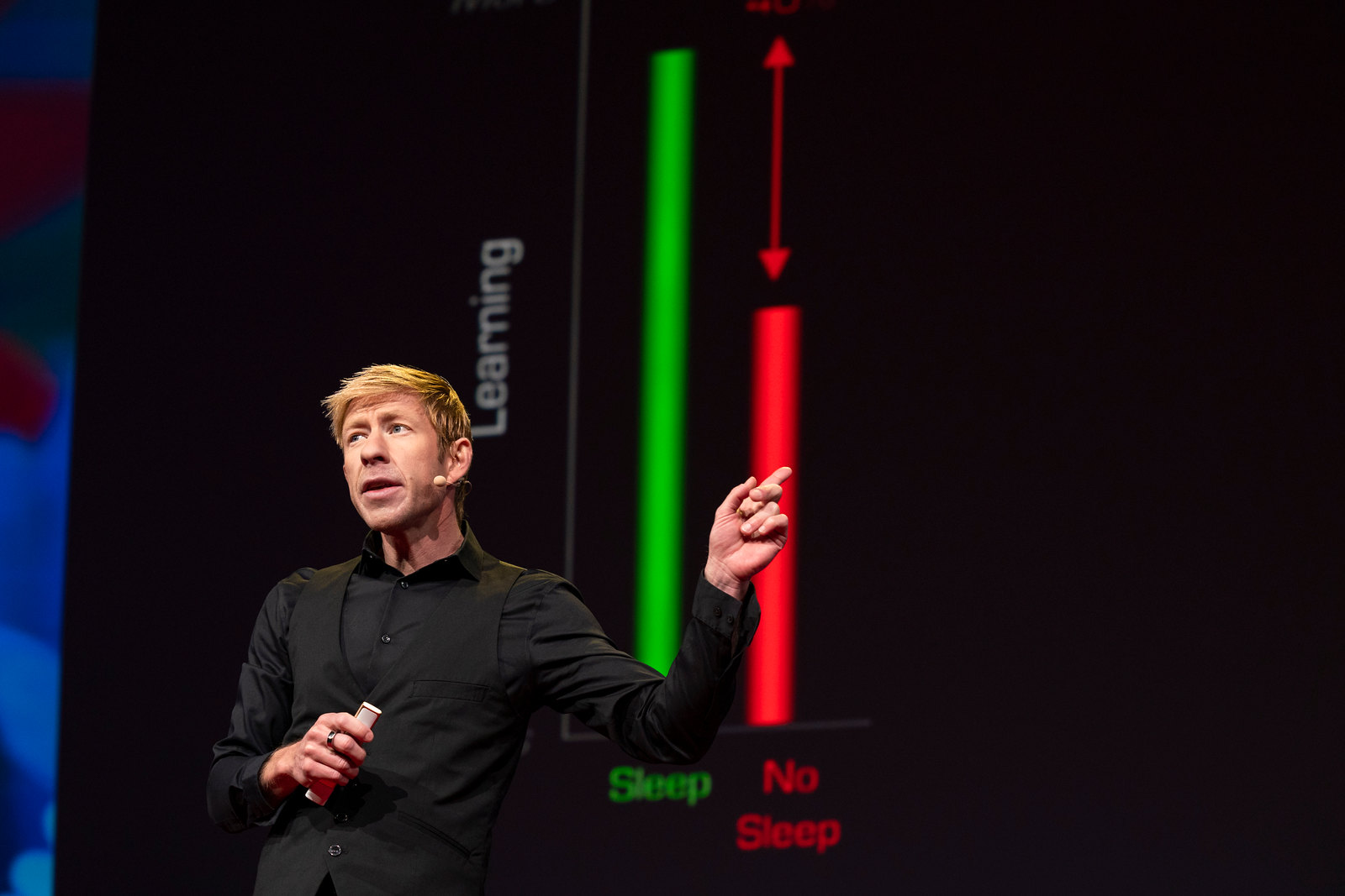 Sleep scientist Matthew Walker at TED