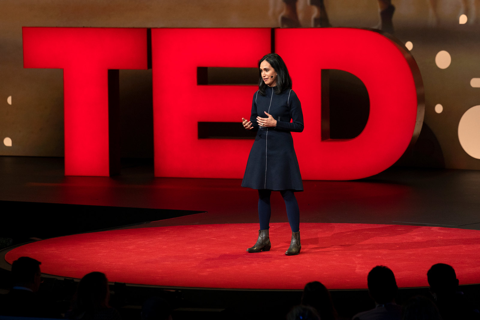 Conflict mediator Priya Parker at TED