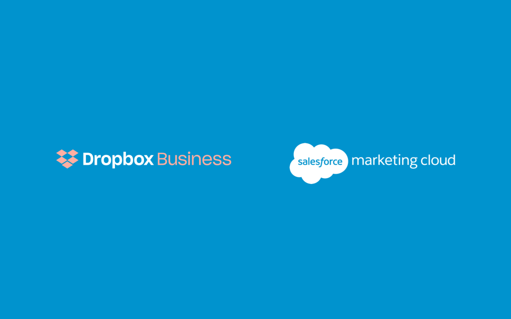 Dropbox and Salesforce logos