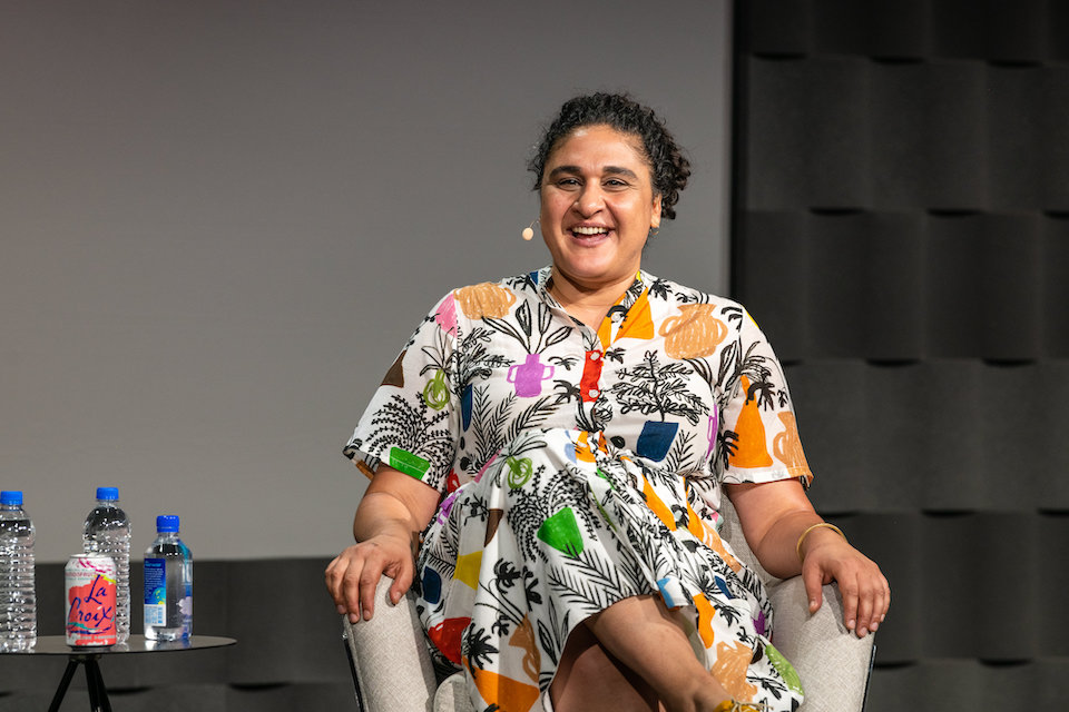 Photo of Samin Nosrat by Skyler Greene
