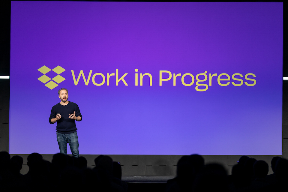 Photo of Dropbox CEO and co-founder Drew Houston by Jose Prado