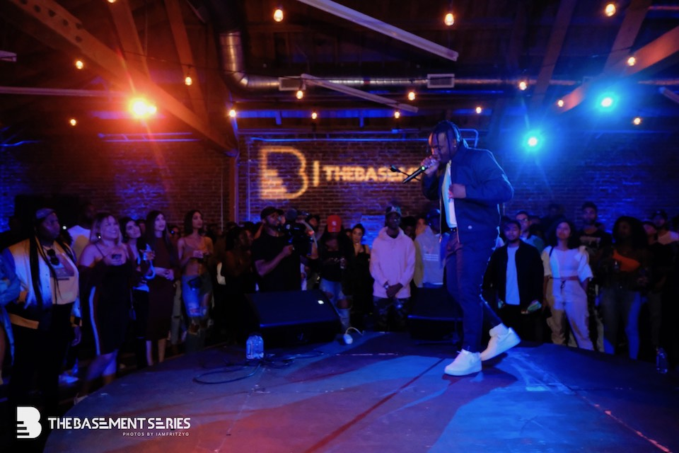 Photo of BLXST at TheBasement Series by @iamfritzyg